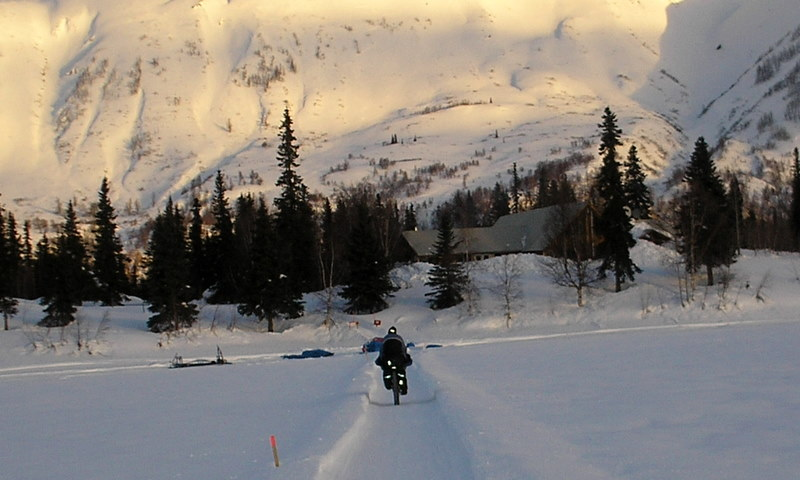 Winter Lake Lodge Iditarod Trail Alaska
